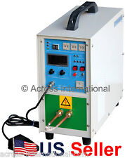 4KW 100-250KHz Solid State Compact Induction Heater Melting Furnace with Timers