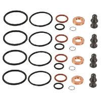 4x Diesel Injector Seal Repair Kit VW Bora, Caddy, Golf, Passat, Polo, Touran