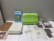 Cuttlebug Machine HUGE LOT Embossing Folders and cutting pads A B C