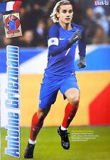Antoine Griezmann Poster im Frankreich Atletico Madrid Trikot WM 2018 Gr. A4!