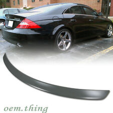 MERCEDES BENZ CLS CLASS W219 4DR A TYPE REAR TRUNK SPOILER WING ABS ○
