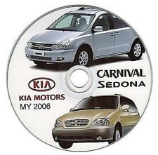 Kia Carnival - Sedona (MY 2006>) manual de taller - workshop manual