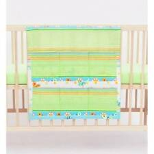 Linge de lit vert pour bébé
