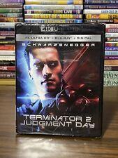 Terminator 2 Judgement Day 4K Ultra HD Blu ray Digital NEW