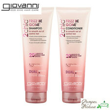 Giovanni 2chic Frizz Be Gone Shea Butter & Sweet Almond Oil Shampoo 250ml