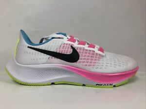 Nike Air Zoom Pegasus 37 (Women's) White/Black-Pink Glow Volt