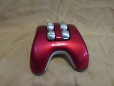 Brookstone Handheld Muscle Massager Battery Operated Compact Portable Red & Gray