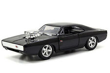 2015 Jada FAST & FURIOUS DOM'S '70 DODGE CHARGER R/T Black 1:32