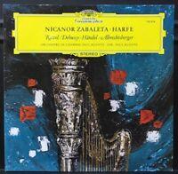 Deutsche Grammophon ⭐️MINT 139304 Zabaleta Harfe Harp Ravel Debussy Kuentz