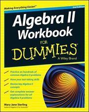 Algebra II Workbook for Dummies® by Consumer Dummies Staff and Mary Jane...