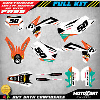 Custom graphics kit UNIT style decals stickers fits KTM EXC 2012 2013 graphics