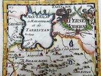 Safavid Persia Iran Isfahan Persian Gulf Caspian Sea 1683 decorative Mallet map