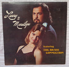 Larry & Marilyn Feat. The Brass Connection lp, JAZZ/FUNK,ULTRA RARE,AUTOGRAPHED!