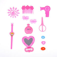 Children Kids Make Up Set Dress-Up Cosmetic Hair Dryer Pretend Play Toys