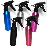 3 Aluminum Spray Bottle Water Empty Atomizer Mist Perfume Hair Care Salon Home