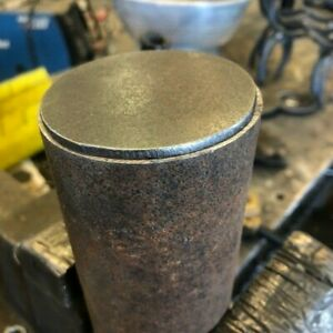 """2-7/8"""" Weld On Tube End Cap pipe caps for 2 7/8"""" pipe ends  1/8"""" THICK -12 Pack"""