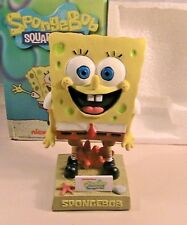 SPONGEBOB SQUAREPANTS BOBBLEHEAD SGA NEW IN BOX RARE BROOKLYN CYLONES NY METS