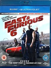 Blu-ray FAST & FURIOUS 6 Extended Action Edition Englisch Vin Diesel+Paul Walker