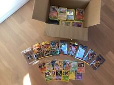 Pokemon 9x NEW booster sealed + old, rare, holo,1st edition! More than 1000!Lot!