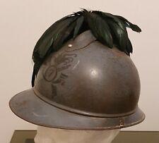 Elmetto regio esercito mod. Adrian da ufficiale bersaglieri WW1 grande guerra
