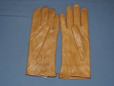 "GRANDOE 8  Soft Tan Leather  Winter Driving Gloves 10"" Long"