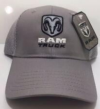 fe34fcf974cb6 Hat Cap Licensed Dodge Ram Truck Logo   Emblem Trucker