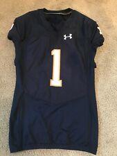 2016 TEAM ISSUED NOTRE DAME FOOTBALL UNDER ARMOUR JERSEY