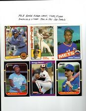 MLB Rookies Mixed Years (1983 To 1997) Pick a Card See Scans $2.15 To 7.85 See*