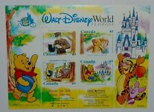 POSTAGE STAMP SHEET & RARE COVER WALT DISNEY WINNIE THE POOH CANADIAN $0.45 1996