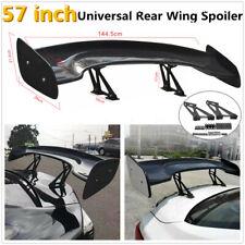 57'' Real Carbon Fiber Rear Trunk Spoiler Wing Universal Racing Car