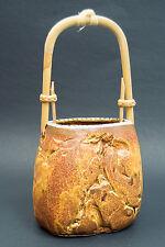 Vintage Made in Japan Ceramic Hanging Planter Basket