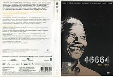 NELSON MANDELA THE EVENT 46664 BEYONCE PETER GABRIEL QUEEN ZUCCHERO 2 DVD SET