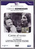 2 Dvd Sceneggiati RaiI CANNE AL VENTO di M.Landi con Cosetta Greco completa 1958
