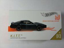 Hot Wheels id Car 2019, K.I.T.T. Night Rider