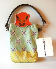 "Pokemon Center Peeking Promotion Vulpix mobile phone case pouch 6"" Japan bag"
