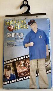 New Gilligan's Island Skipper Adult Halloween Costume Fun World
