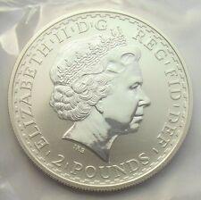 Elizabeth II 1998 Two Pounds Britannia One Ounce Silver Mint sealed BU