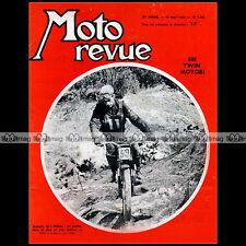 MOTO REVUE N°1641 JOUBERT KREIDLER MOTOBI 500 WERNER MALTRY VESPA GT 125 1963
