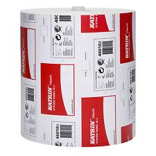 6 hochw.Handtuchrollen Katrin Classic System Towel M2 Art. 460102 2-lagig, weiss