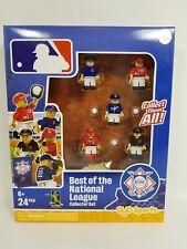 MLB Baseball BEST OF THE NATIONAL LEAGUE COLLECTOR SET OYOsport 24 pcs Lego type