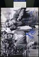 WOODY ALLEN DIANE KEATON PSA DNA Coa Hand Signed 8x10 Photo Autograph
