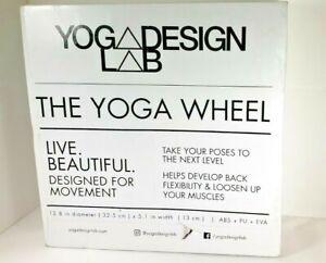 Yoga Design Lab Mandala Night Yoga Wheel Black