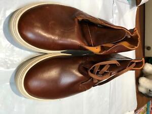 Mens Shoes- Jasper Conrad Size Uk 10 Colour Brown