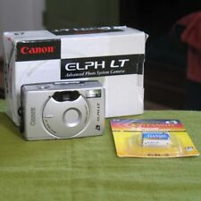 Canon Elph Lt Aps Point & Shoot Film Camera with Box + New Battery Works