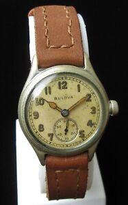 Vintage Watch BULOVA 10AK.Military.USA.1941.WWII