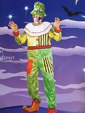 CIRCUS CARNIVAL FANCY DRESS CLOWN COSTUME ADULTS MENS