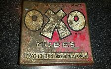 OXO GRAVIES AND STEWS CUBES TIN BOX 50 cube size early example