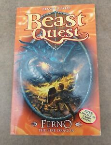 Beast Quest: Ferno the Fire Dragon..including Collector Cards (Paperback)