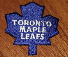 """NEW Toronto Maple Leafs Logo Polo Size Embroidered Iron-On Patch 3"""" x 2.75"""" *P8"""