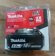 New Plastic Seal Makita 6.0AH 18v Li-ion battery BL1860B with LED indicator